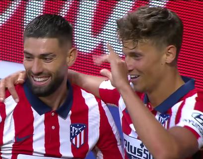 Атлетико по-прежнему занимает первое место в Ла Лиге