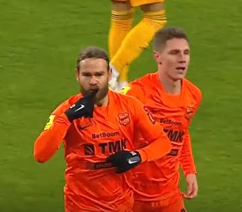 Бикфалви забил гол тульскому Арсеналу