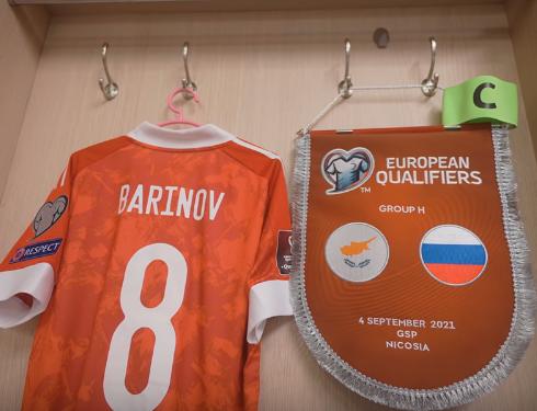 Баринов - капитан сборной России по футболу