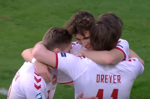 Молодежный состав сборной России проиграл сборной Дании