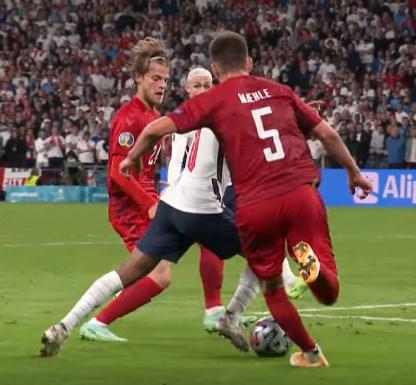 Евро-2020. Полуфинал. Англия - Дания