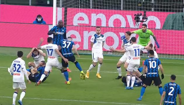 Интер обыграл Аталанту в Серии А 1:0