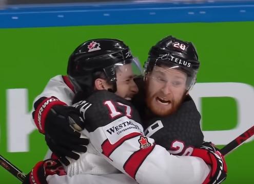 Канада обыграла США в полуфинале ЧМ по хоккею 2021