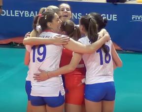 Лига Наций - женский волейбол. Россия - Италия