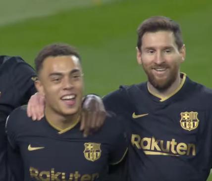 Месси оформил дубль в матче против Реала Сосьедад