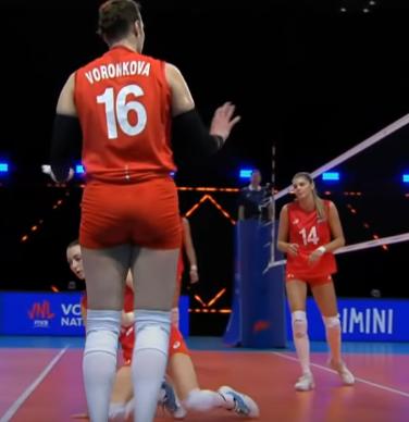 Сборная России по волейболу. Воронкова