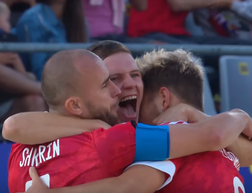 Сборная России в финале ЧМ