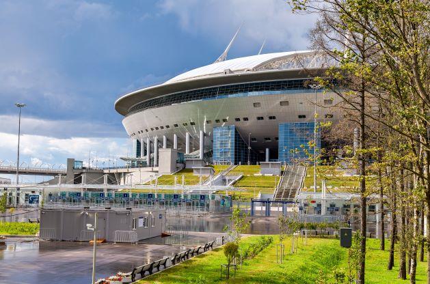 Стадион ФК Зенит в Санкт-Петербурге