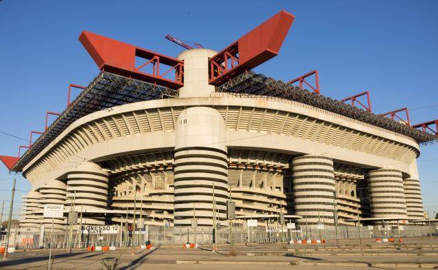 Стадион Сан-Сиро. Джузеппе Меацца. Италия