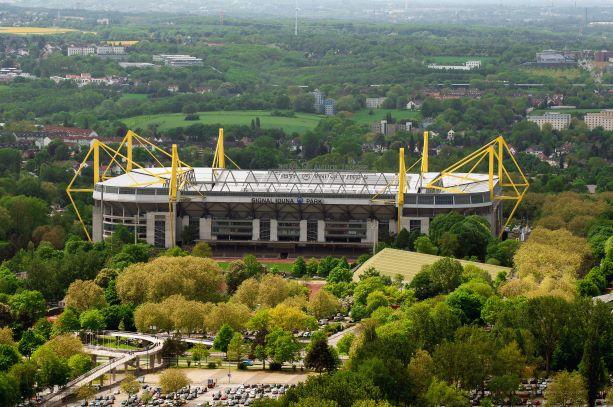 Стадион Сигнал Идуна Парк. Дортмунд. Вестфалия