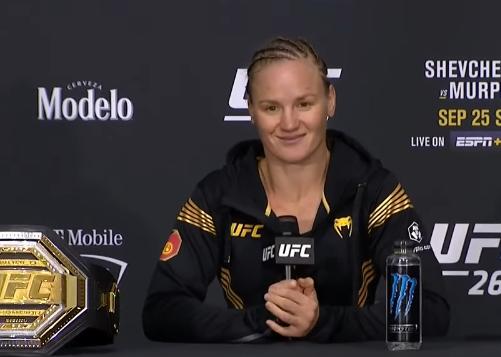 Валентина Шевченко UFC 266