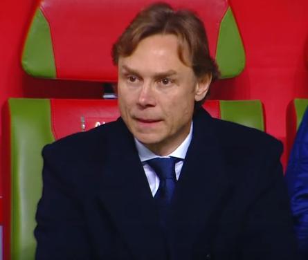 Валерий Карпин - тренер сборной России